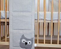 Cot bed pockets (vertical)