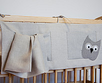 Cot bed pockets (horizontal)